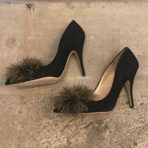 Kate Spade suede heels - sz 8.5